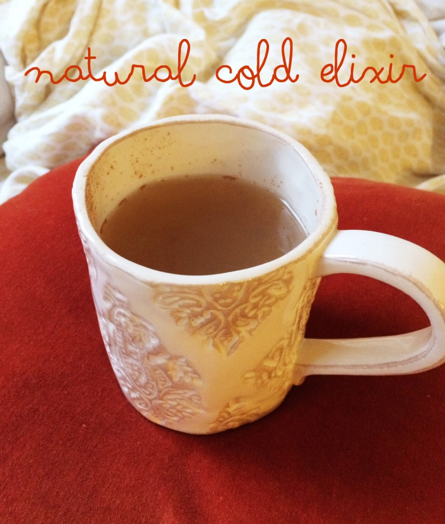 natural cold elixir