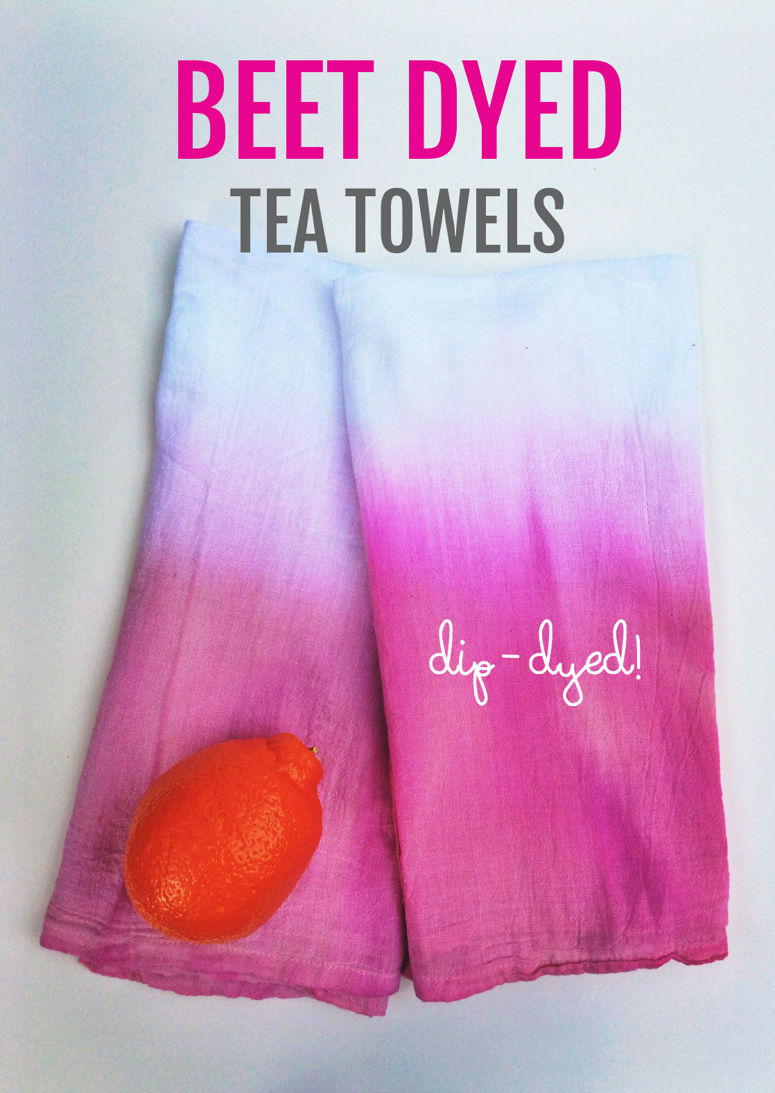 How to Dye Fabric with Beets