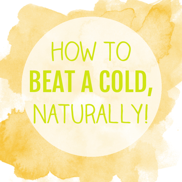 how to beat a cold