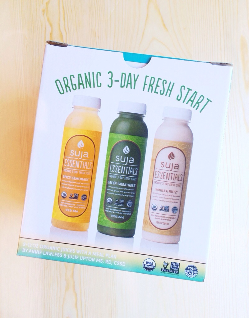 Suja Essentials 3-Day Fresh Start