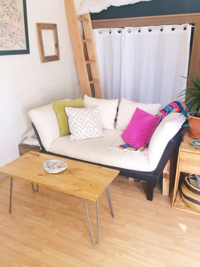 Diy hairpin leg coffee table london like the city diy hairpin tableg geotapseo Images