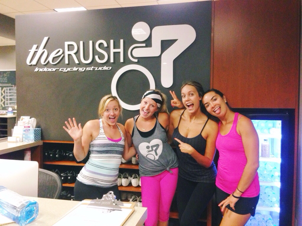 the rush indoor cycling