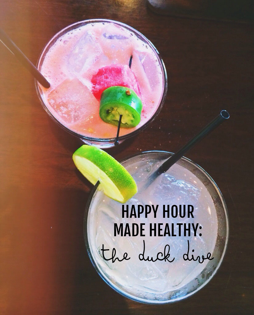 Happy Hour Made Healthy: Duck Dive