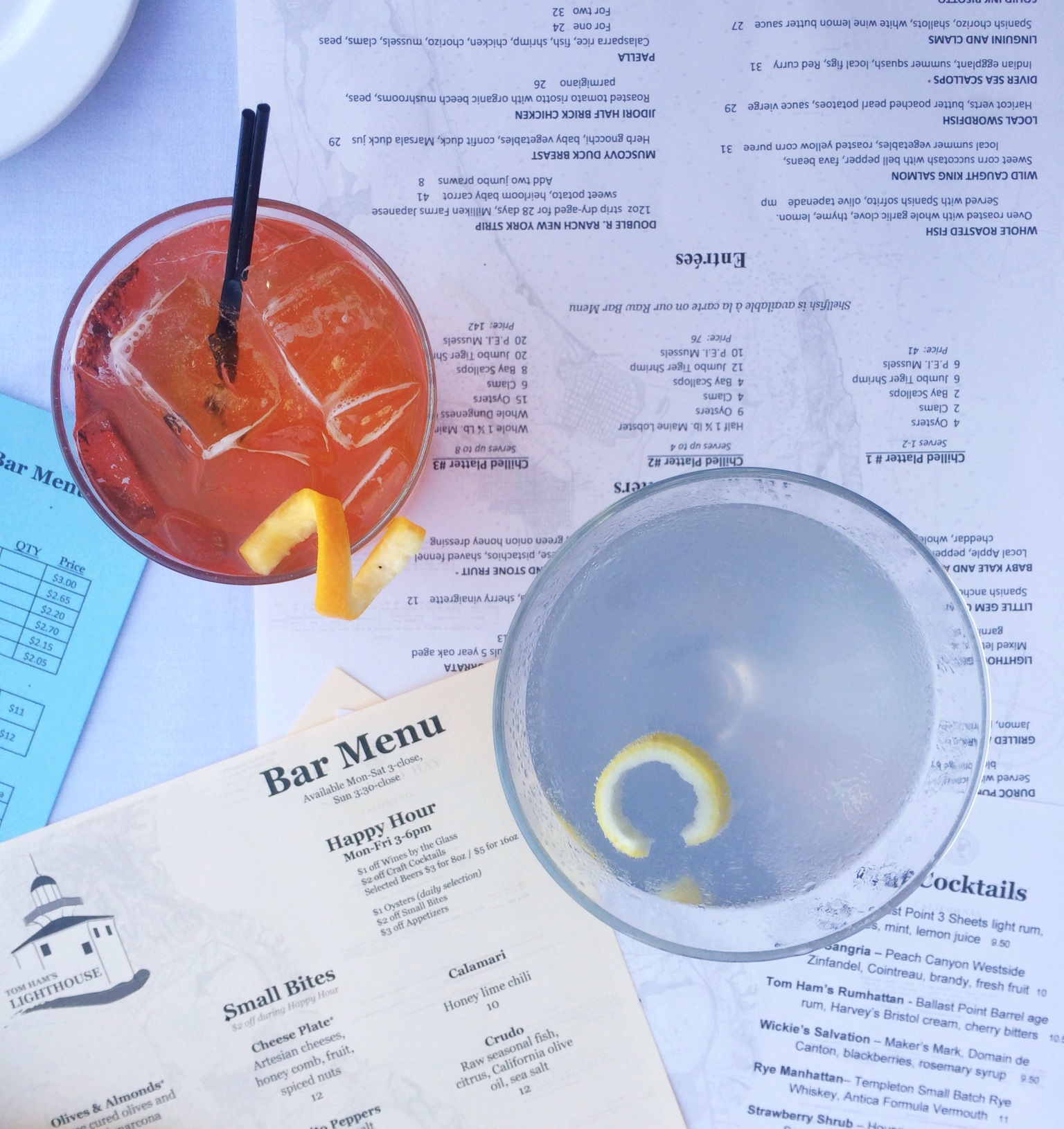 Tom Hams Cocktails