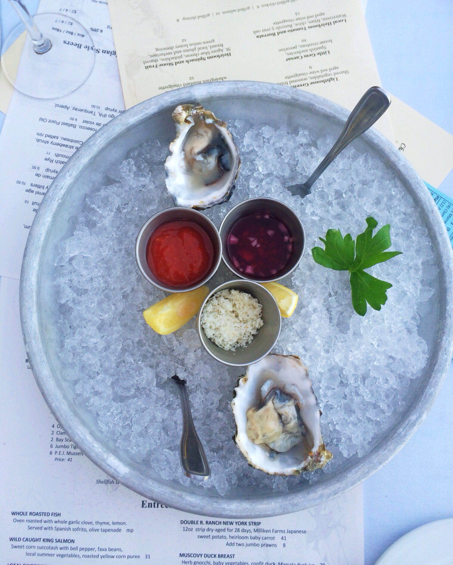 Tom Hams Oysters