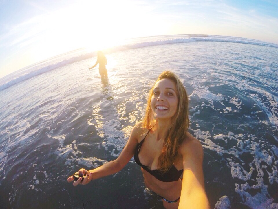 sunset dips
